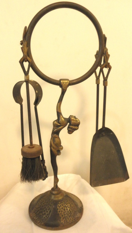 Brass Fire Tools