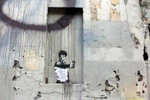 Street  art in Liverpool St